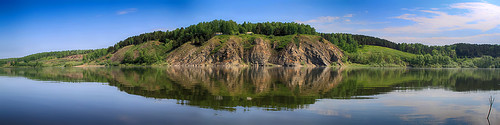 Панорама реки Томь