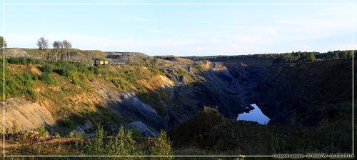 Старый карьер (КО - панорама 2 кадра - 01.09.2012)