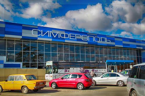 Аэропорт г.Симферополь (© NickFW - 27.10.2015)
