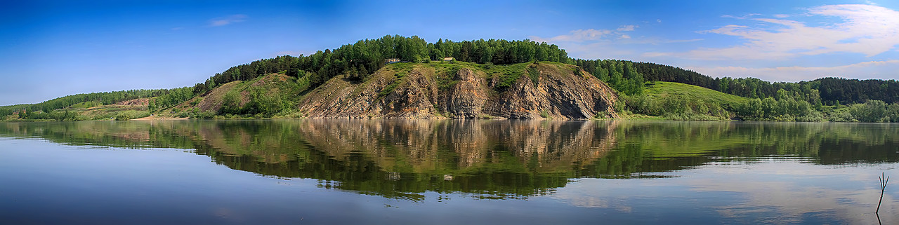 Панорама реки Томь [© NickFW - 03.06.2012]