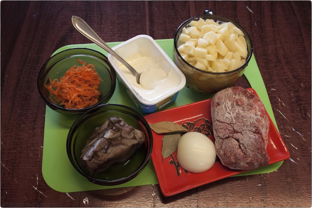 2. Сырный суп с грибами и фаршем [© NickFW.ru]