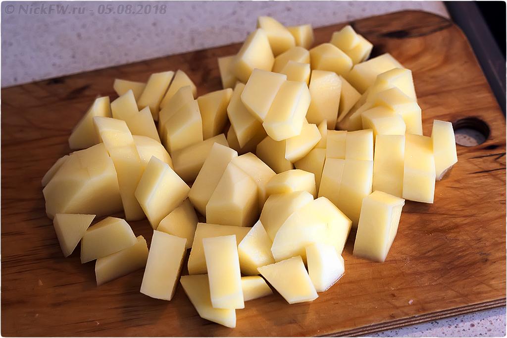 3. Сырный суп с фаршем грибами яйцом и молоком - © NickFW.ru
