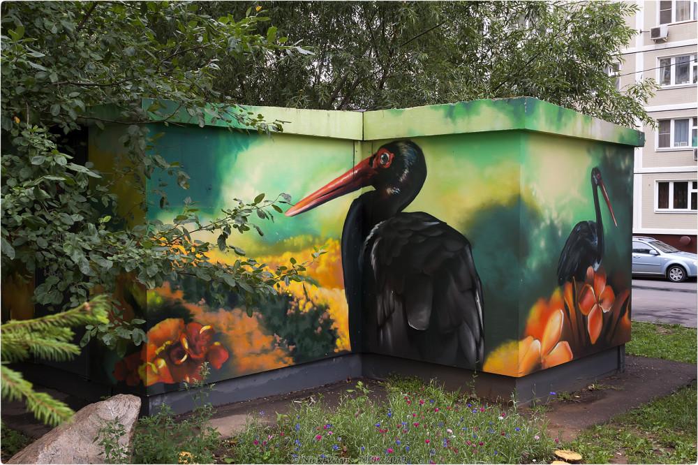 1. Дворовое искусство в Солнцево © NickFW.ru - 12.07.2019г.