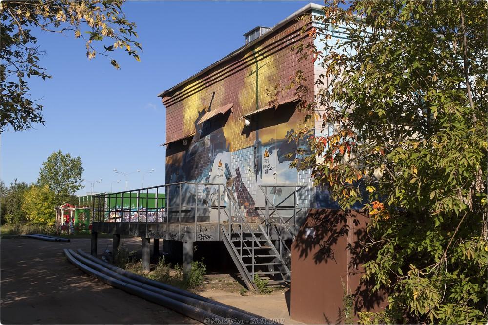 5. Уличное искусство в Рассказовке © NickFW.ru - 28.08.2019