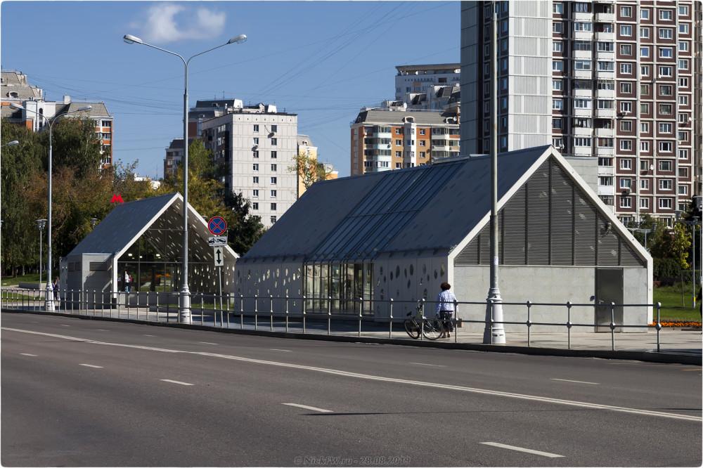 11. Станция Солнцево - Выходы№№ 3,4 © NickFW.ru - 28.08.2019г.