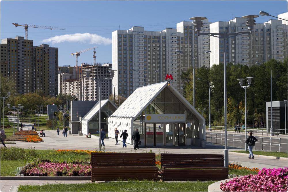 13. Станция Солнцево - выходы №№ 3,4 © NickFW.ru - 28.08.2019г.