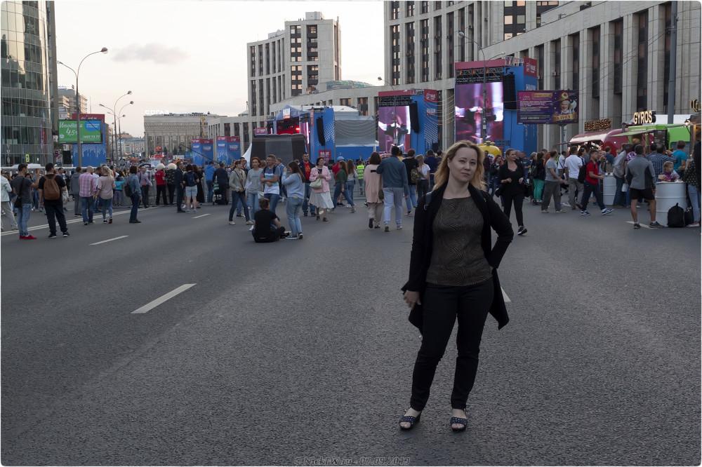 9. Моя Олька на фестивале НАШИ В ГОРОДЕ - Москва - © NickFW.ru - 07.09.2019г.