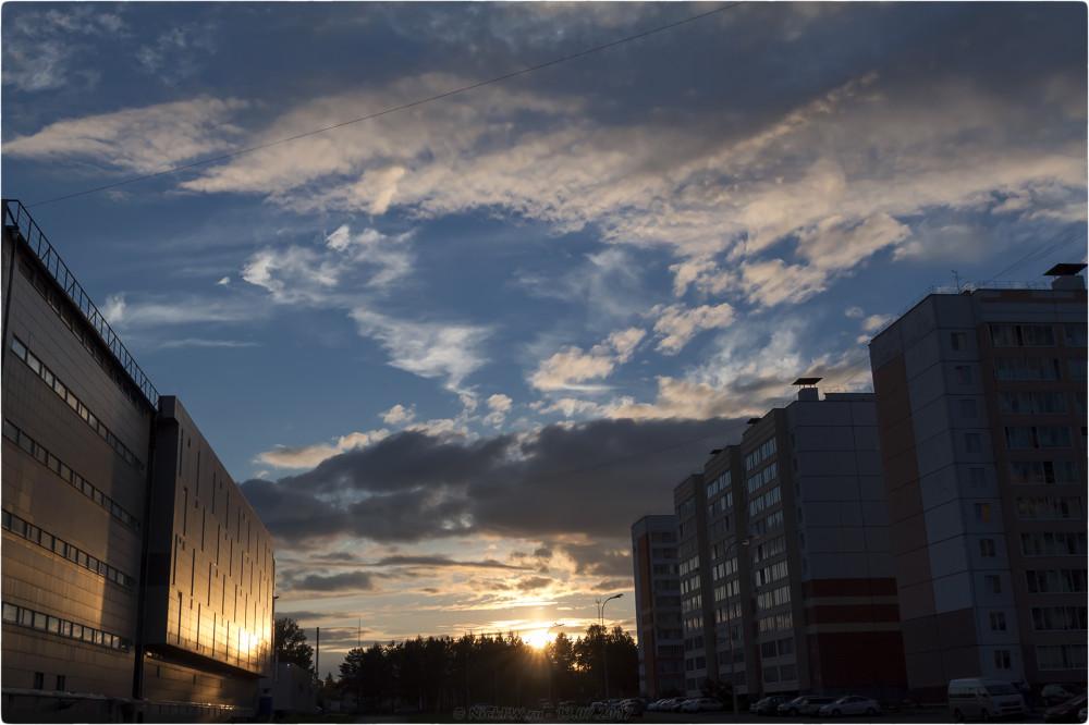 1. Закат - © NickFW.ru - 13.07.2017г.