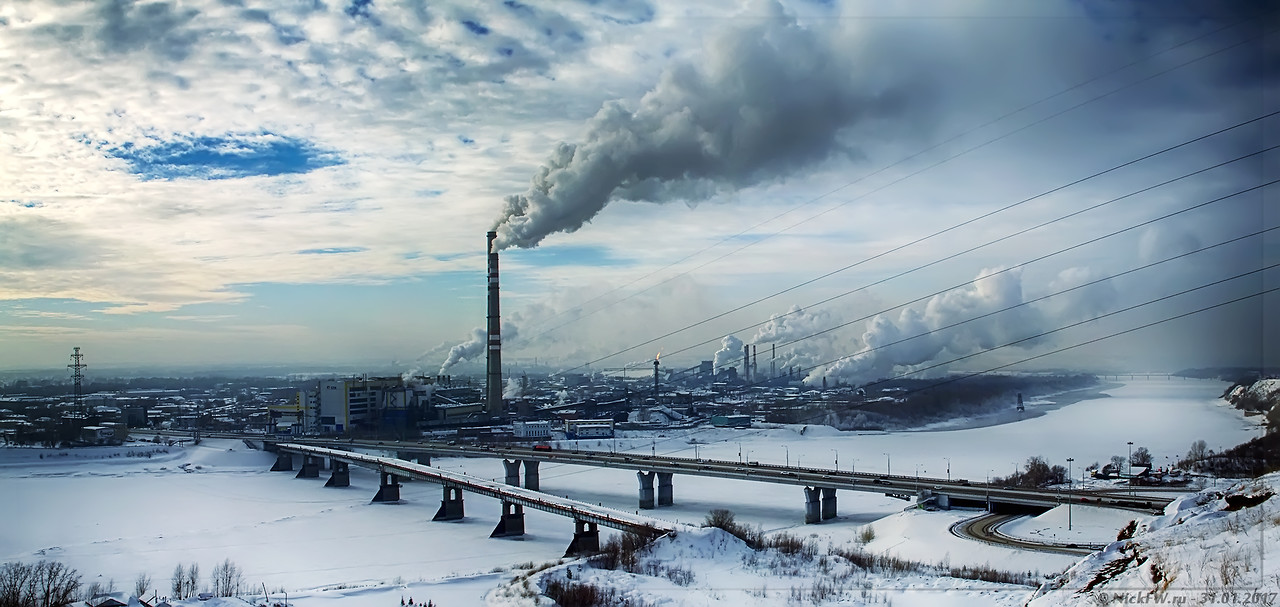 Панорама Кузнецкого моста - 1 (© NickFW - 31.01.2017)