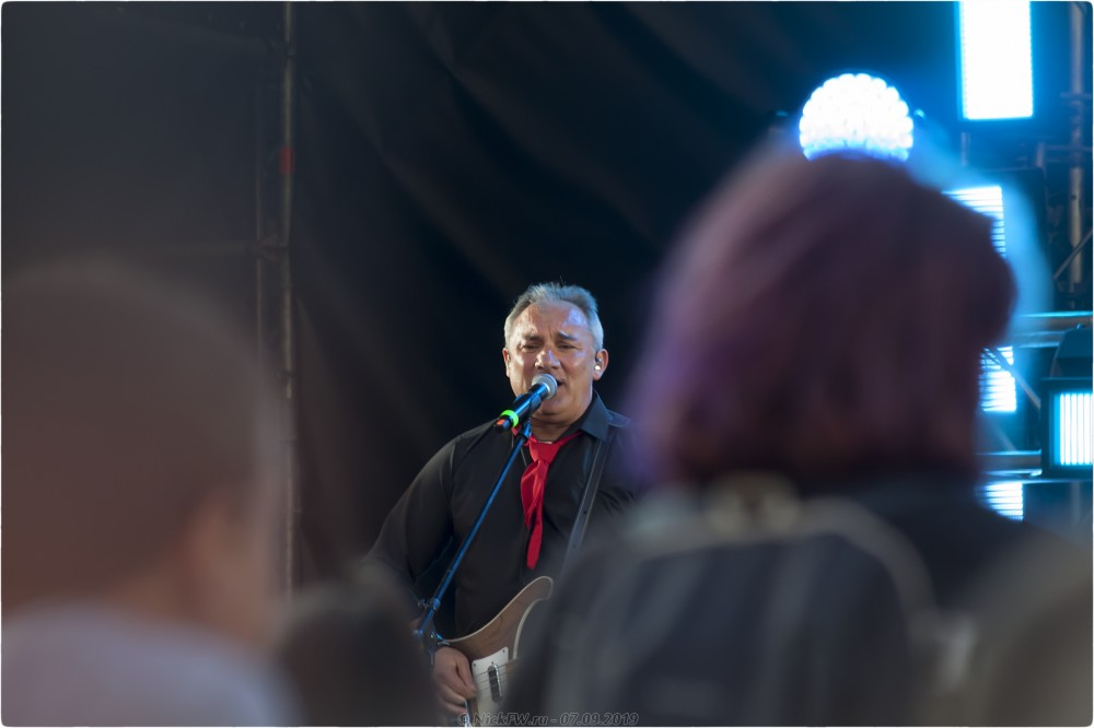 """1. Николай Фоменко - """"Секрет"""" - НАШИ В ГОРОДЕ - Москва - © NickFW.ru - 07.09.2019г."""