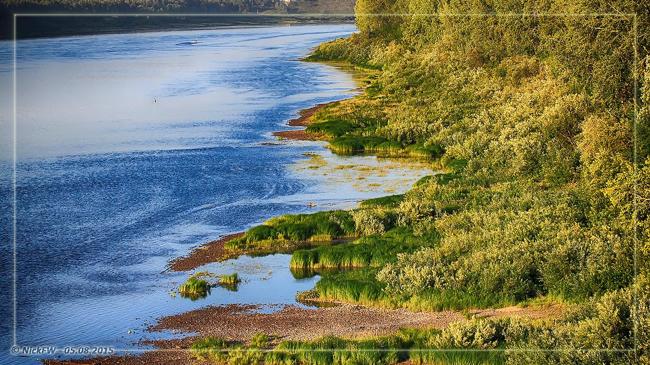 Томь вид с Кузбасского моста [© NickFW - 05.08.2015]