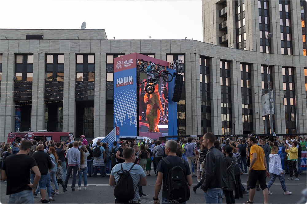 8. Шоу фристайла-мотокросса MadMen - Наши в городе - © NickFW.ru - 07.09.2019