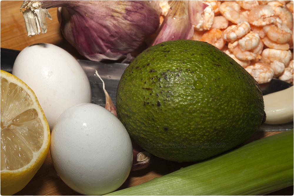 2. Салат с креветками и авокадо © NickFW.ru - 27.09.2019г.