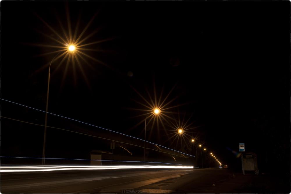 4. Ночные - Перекрёсток на М53 - © NickFW.ru - 27.05.2017 [ISO=100 / F=22 / 12 сек]