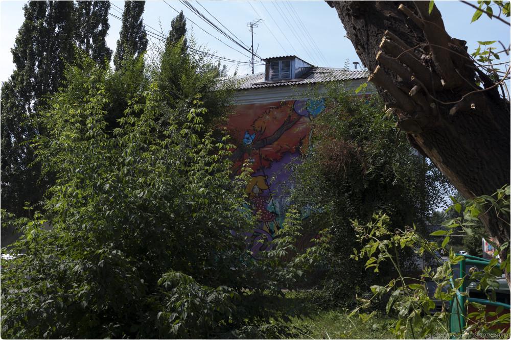 4. Уличное искусство в Кемерово на проспекте Ленина... © NickFW.ru - 29.07.2019г.