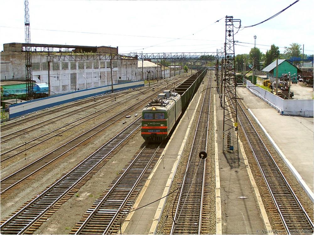 5. ЖД станция Белово - © NickFW.ru - 27.07.2009г.