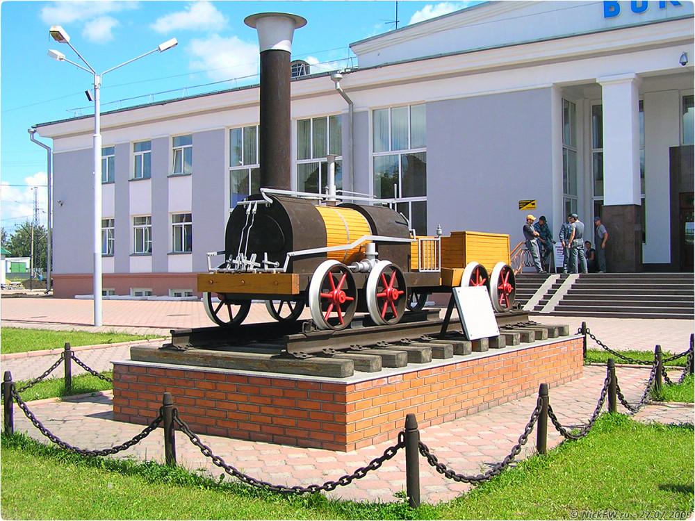 2. Макет паровоза Черепановых - © NickFW.ru - 27.07.2009г.