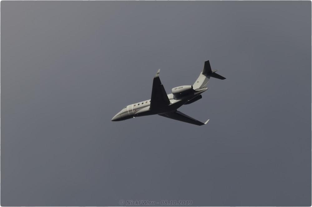 6. Gulfstream G280 - SP-NVM - © NickFW.ru - 08.10.2019г.