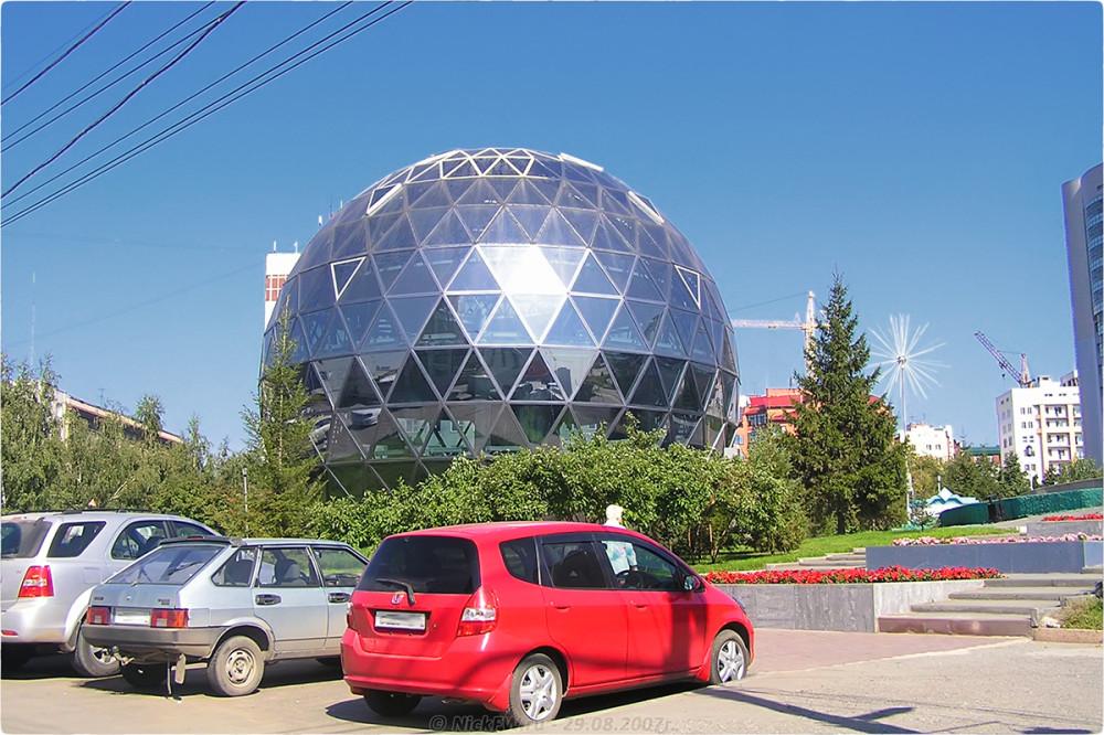 1. Шар - Новосибирск - © NickFW.ru - 29.08.2007г.