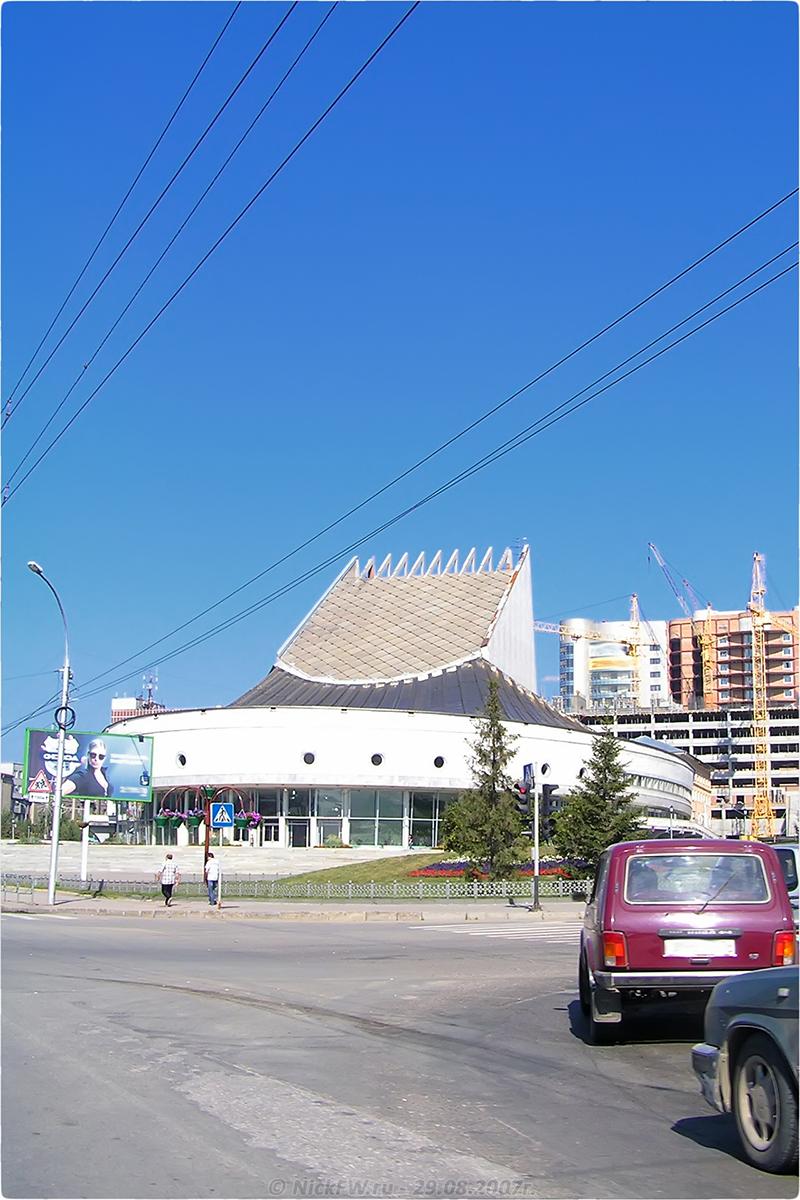 3. Глобус - Новосибирск - © NickFW.ru - 29.08.2007г.