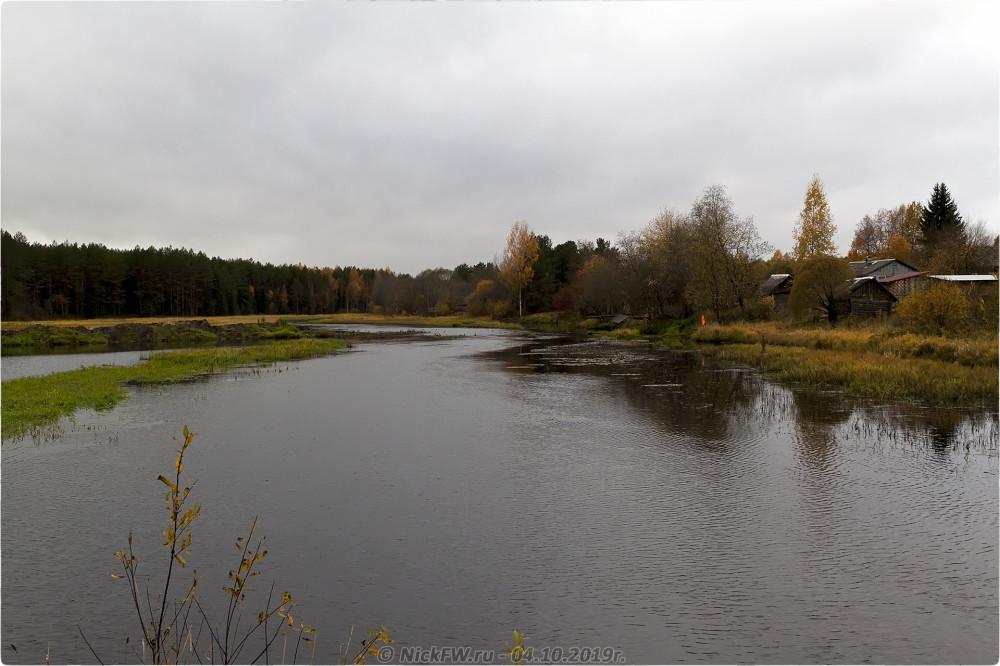 2. Река Белая в Климовщине © NickFW.ru - 04.10.2019г.