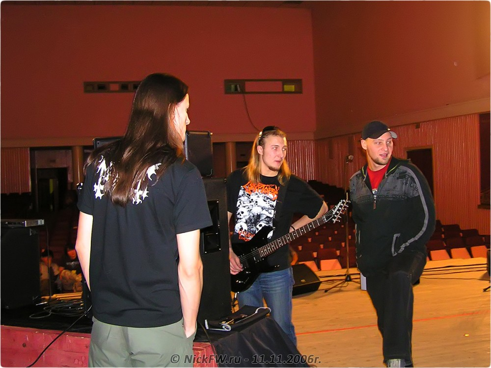 1. Soundcheck - NuclearFest pt.2 - © NickFW.ru - 11.11.2006г.