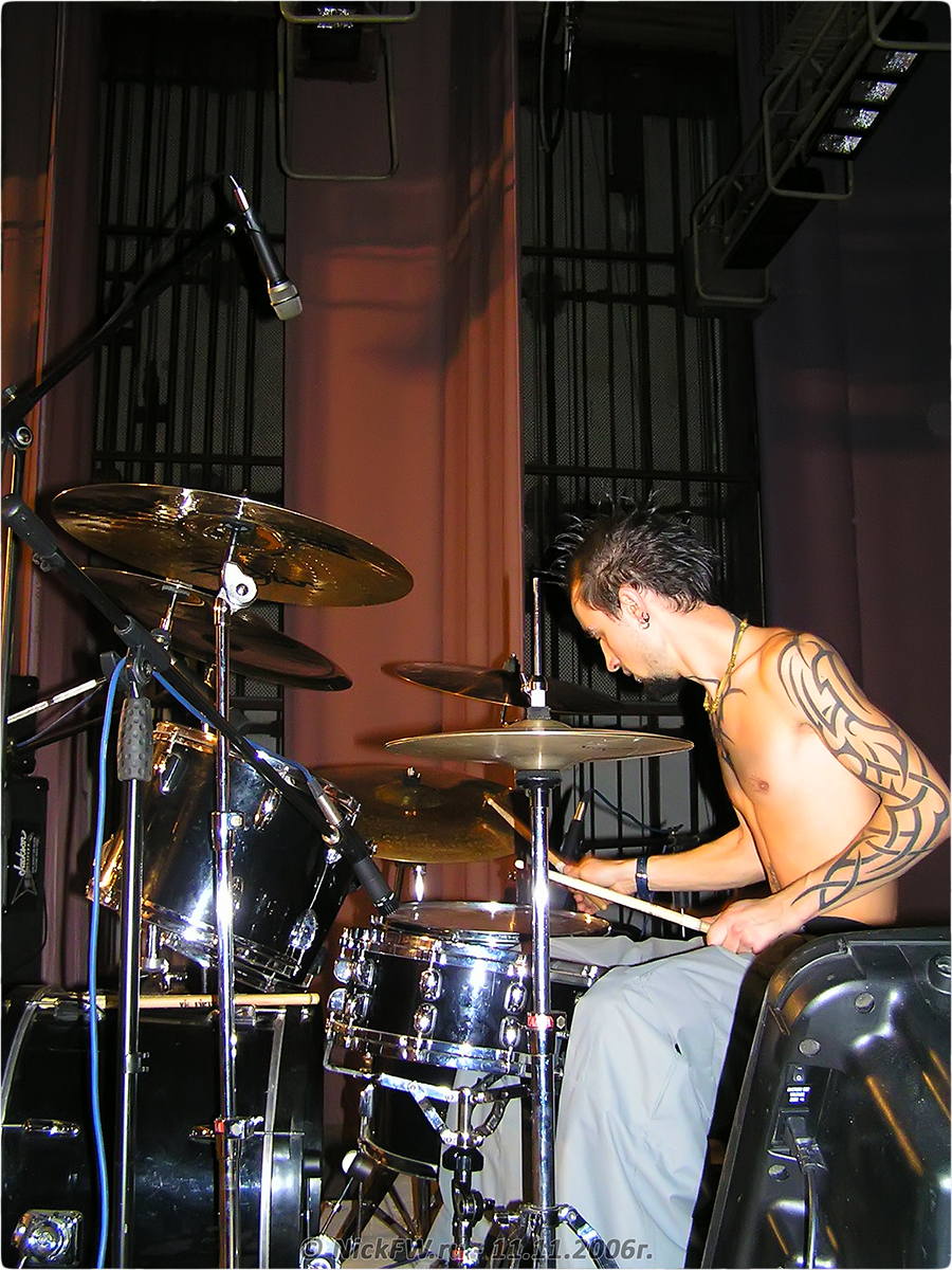2. Soundcheck - NuclearFest pt.2 - © NickFW.ru - 11.11.2006г.