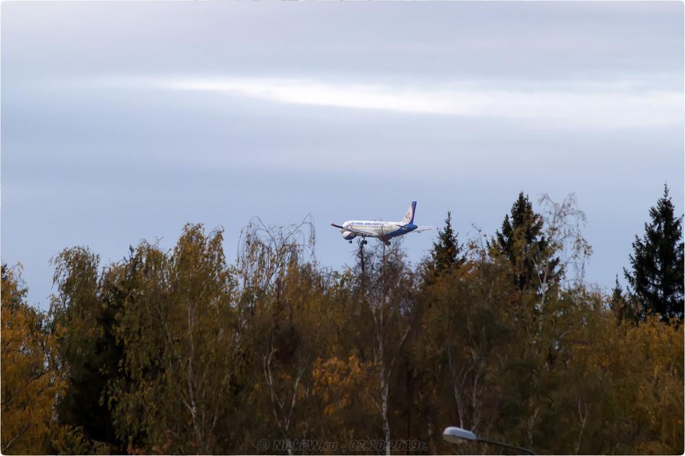 8. Airbus A320-214 - Бортовой №: VQ-BCI - © NickFW.ru - 02.10.2019г.