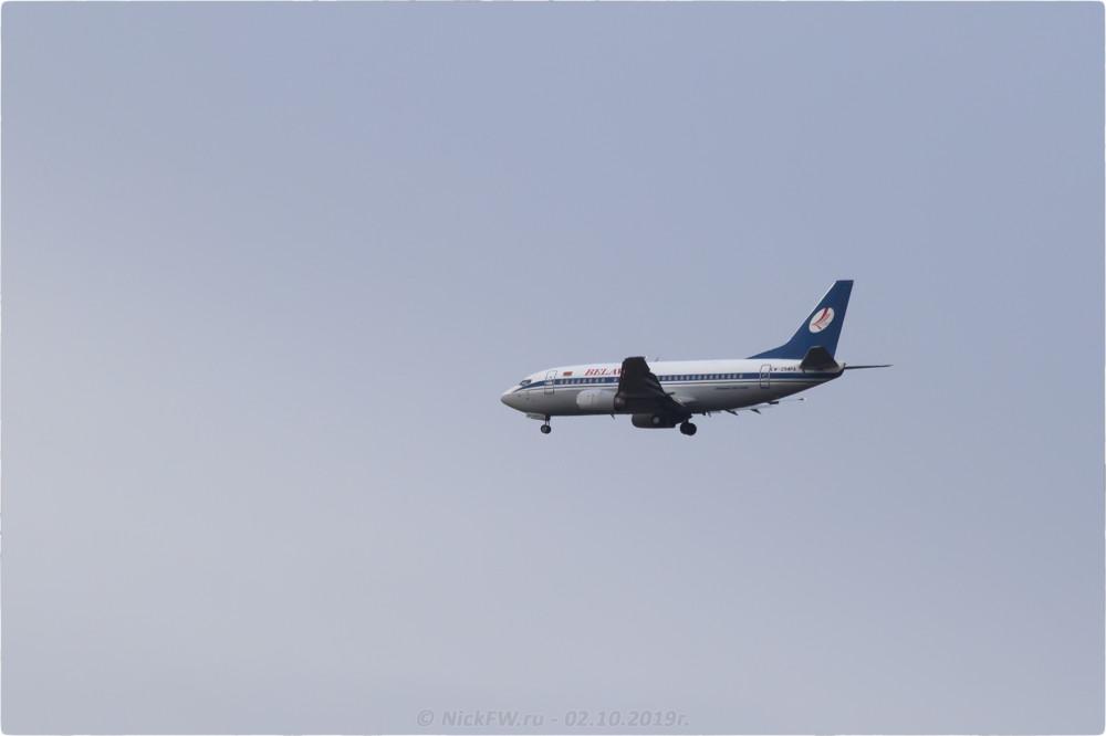 3. Boeing 737-500 - Бортовой №: EW-294PA - © NickFW.ru - 02.10.2019г.