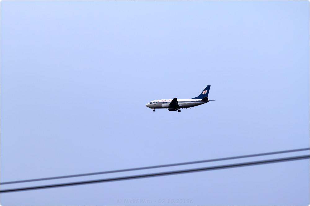 2. Boeing 737-500 - Бортовой №: EW-294PA - © NickFW.ru - 02.10.2019г.