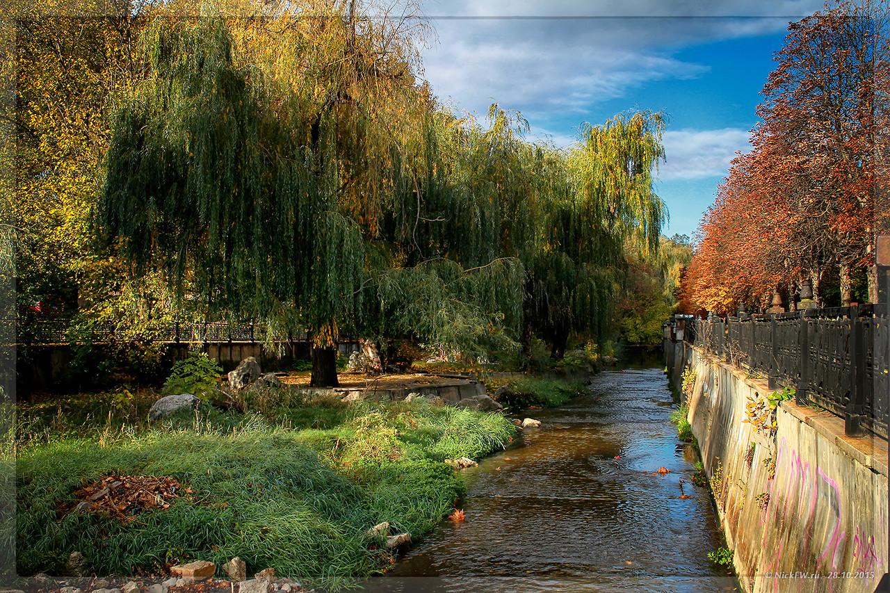 Река  Салгир Симферополь (© NickFW - 28.10.2015)