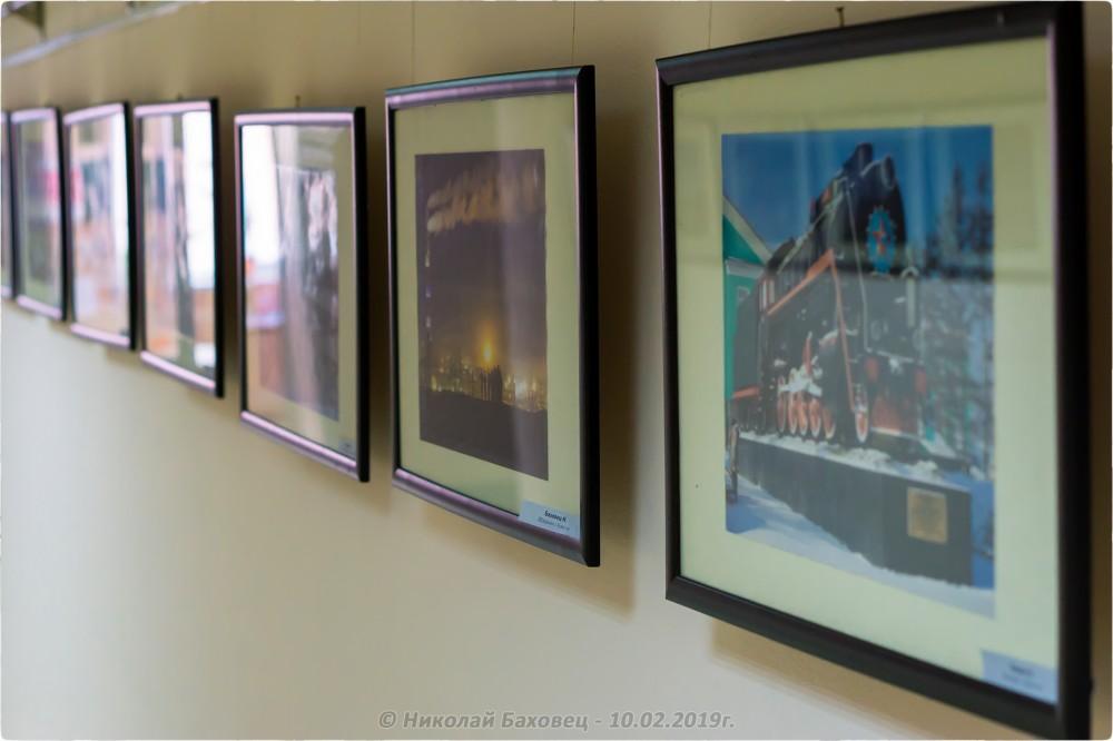 26. Фотовыставка «Кемерово, с марки...» перед закрытием - © Николай Баховец - 10.02.2019г.