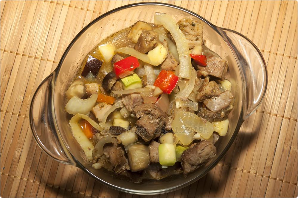 13. Кушать подано - Индейка с овощами в духовке... © NickFW.ru - 26.11.2019г.