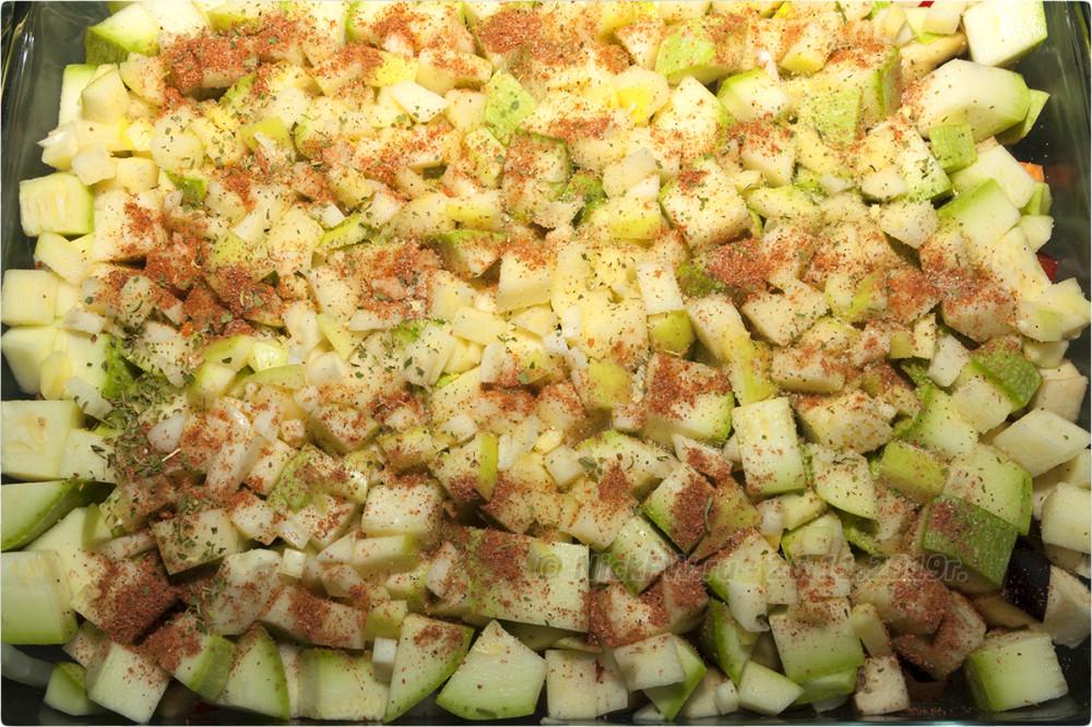 9. Индейка с овощами в духовке - финальный штрих... © NickFW.ru - 26.11.2019г.