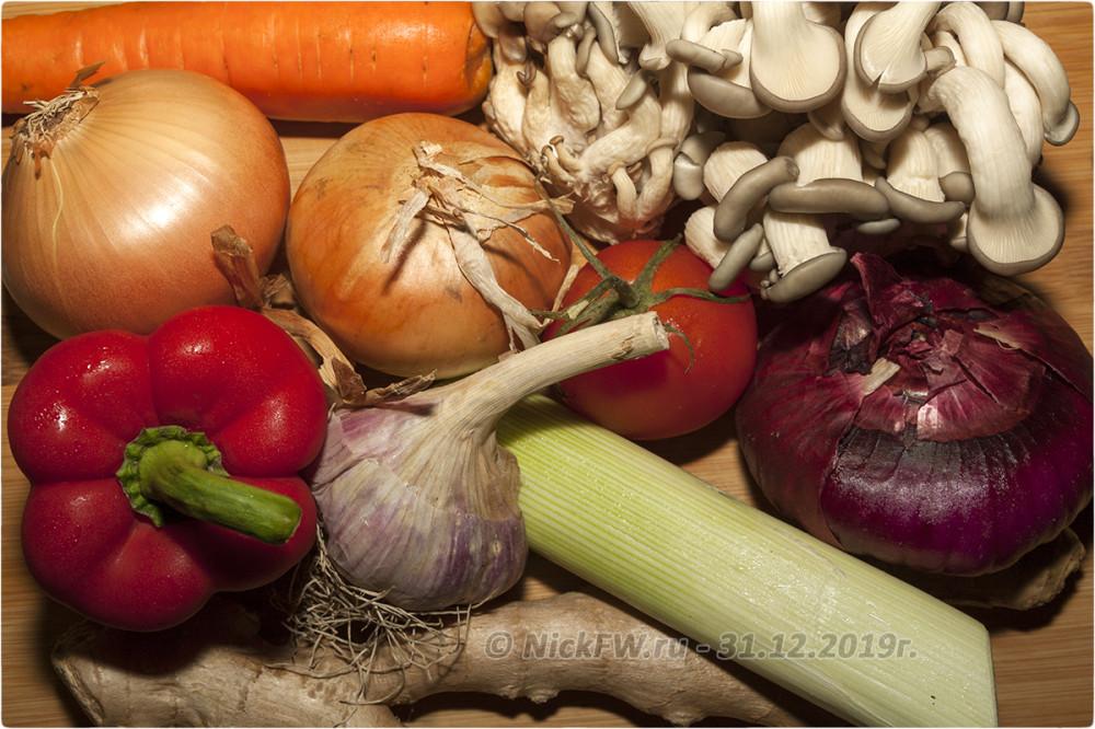 2. Индейка с овощами и картошкой на гарнир © NickFW.ru - 31.12.2019г.