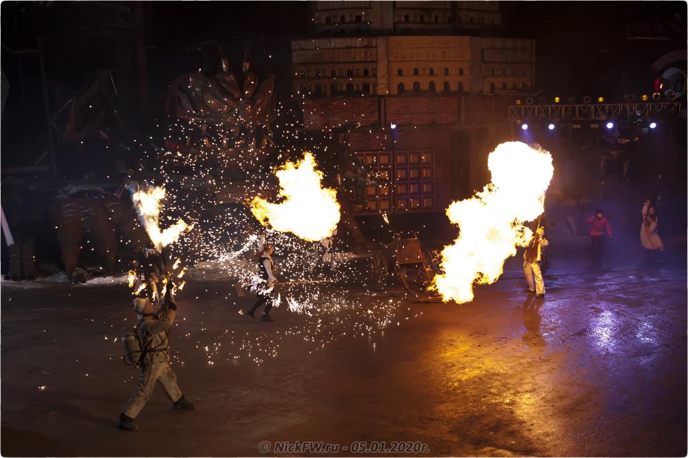 8. Новогодняя ёлка #2020 в Байк-Центре © NickFW.ru - 05.01.2020г.