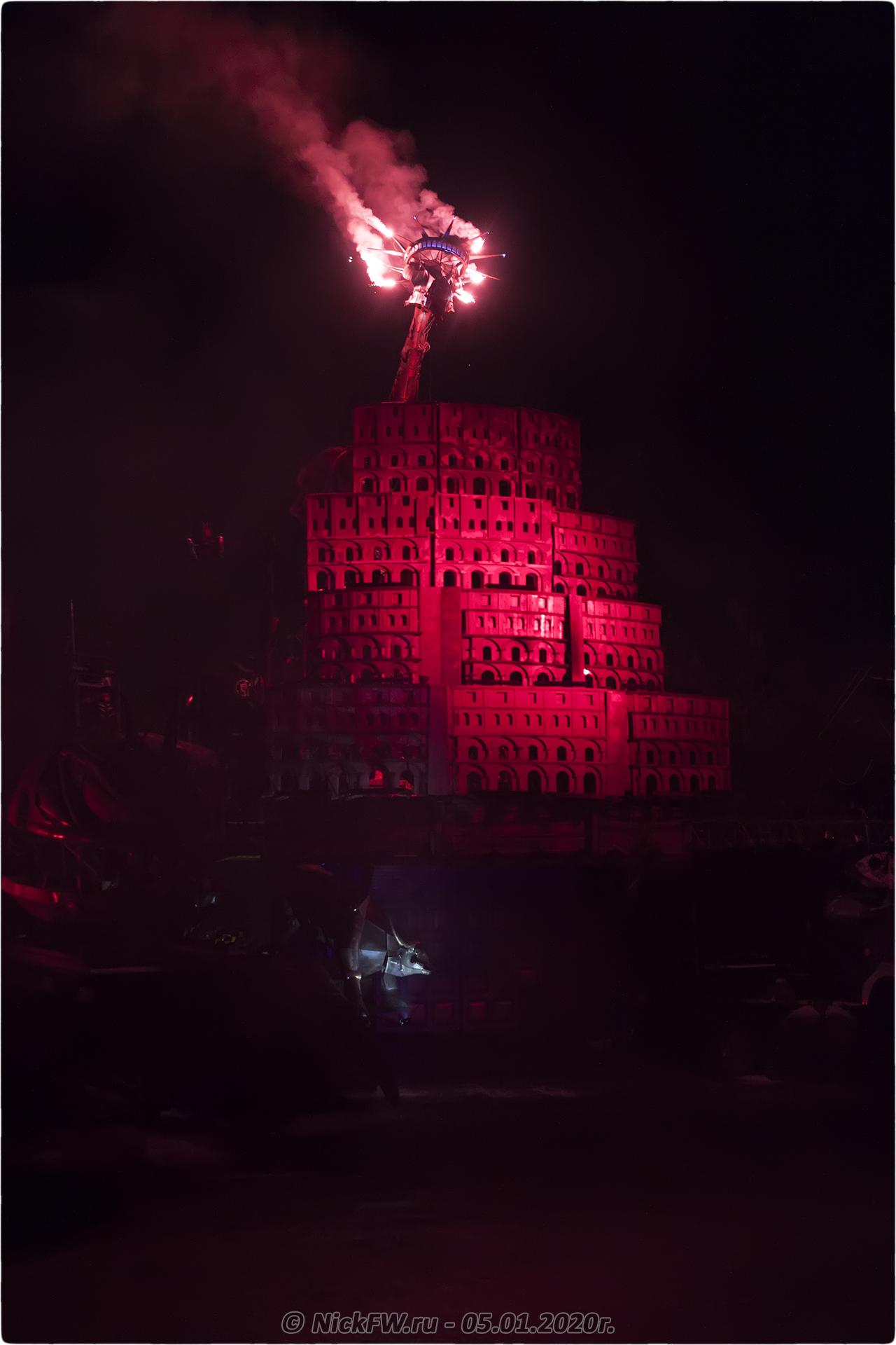 10. Новогодняя ёлка #2020 в Байк-Центре © NickFW.ru - 05.01.2020г.