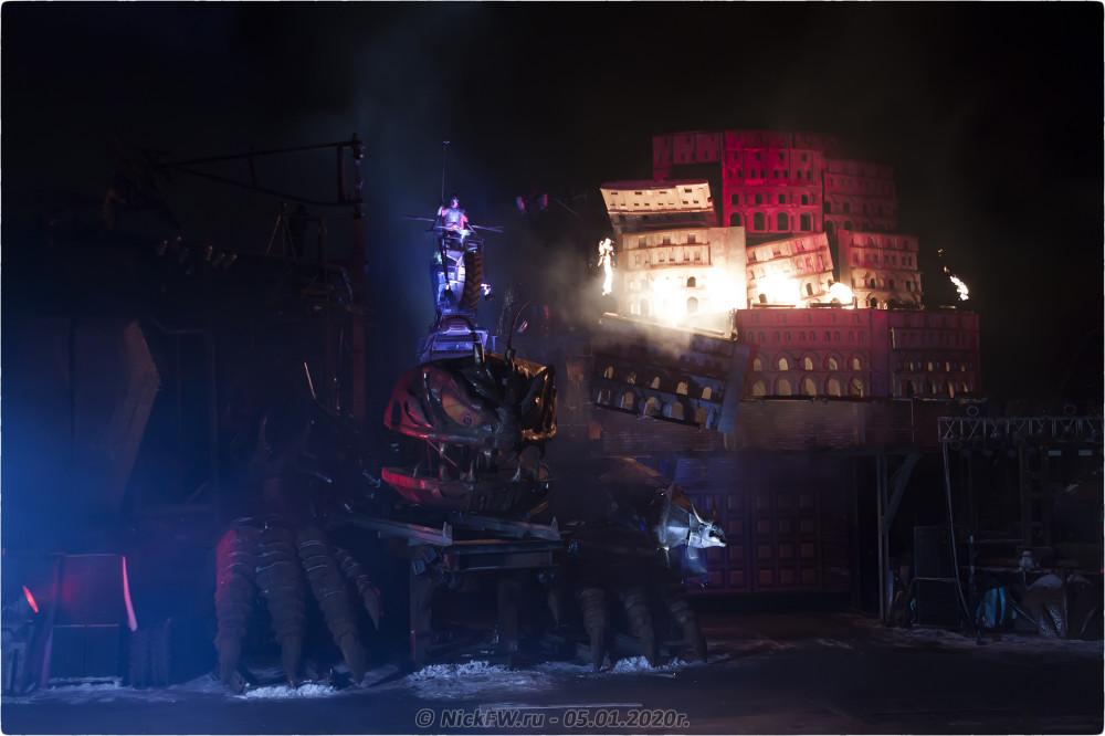13. Новогодняя ёлка #2020 в Байк-Центре © NickFW.ru - 05.01.2020г.