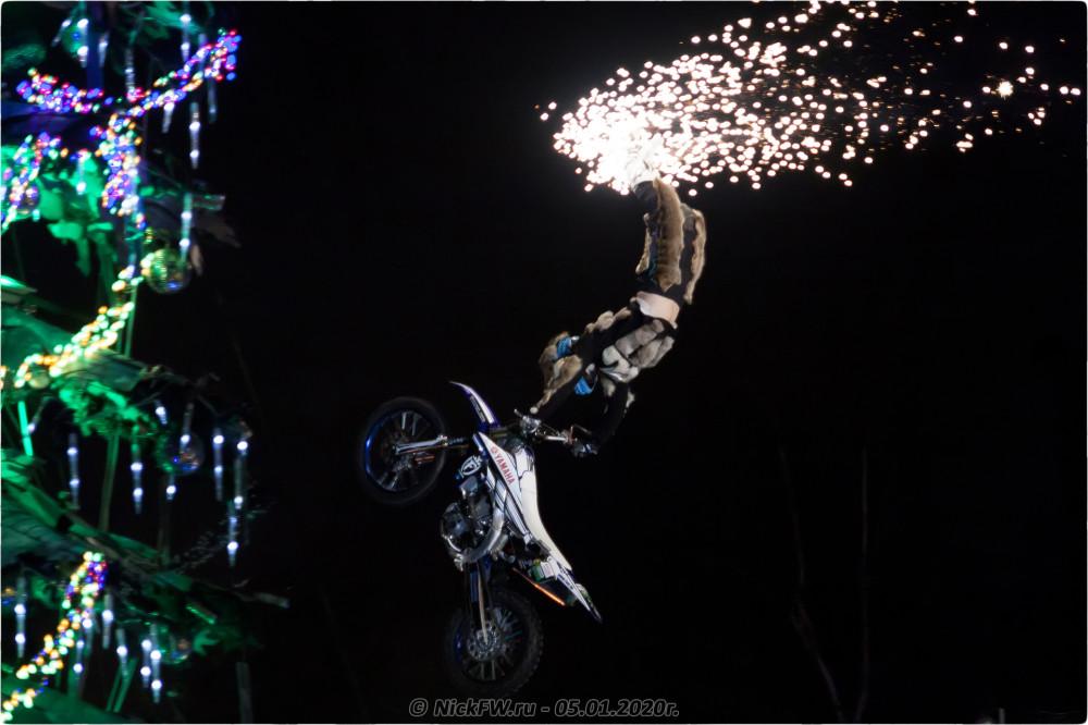 19. Новогодняя ёлка #2020 в Байк-Центре © NickFW.ru - 05.01.2020г.