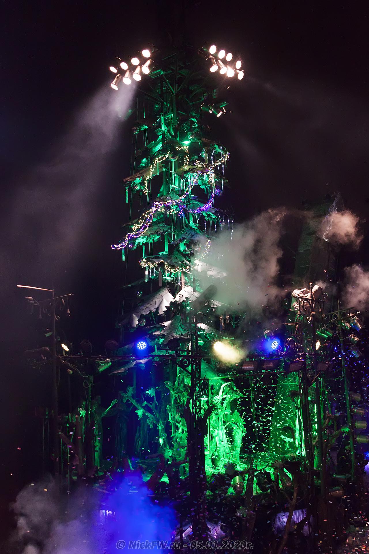 22. Новогодняя ёлка #2020 в Байк-Центре © NickFW.ru - 05.01.2020г.