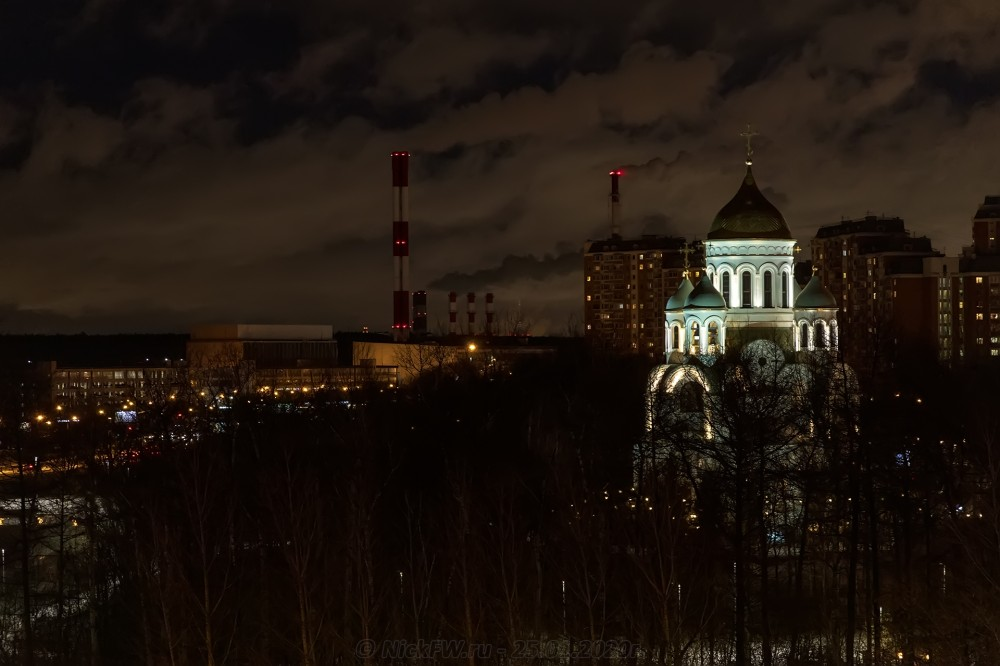 10. Вид на храм © NickFW.ru - 25.01.2020г.