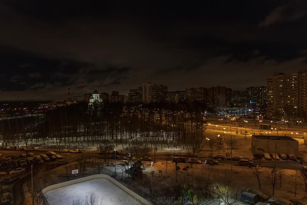 11. Вид из окна © NickFW.ru - 25.01.2020г.