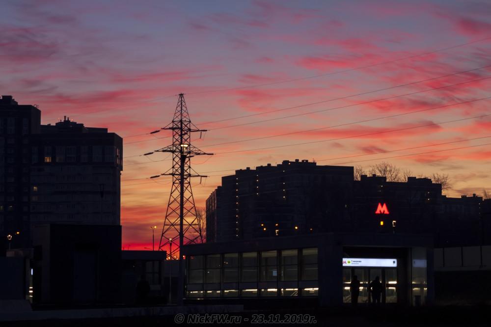 6. Рассвет над Говорово... © NickFW.ru - 23.11.2019г.