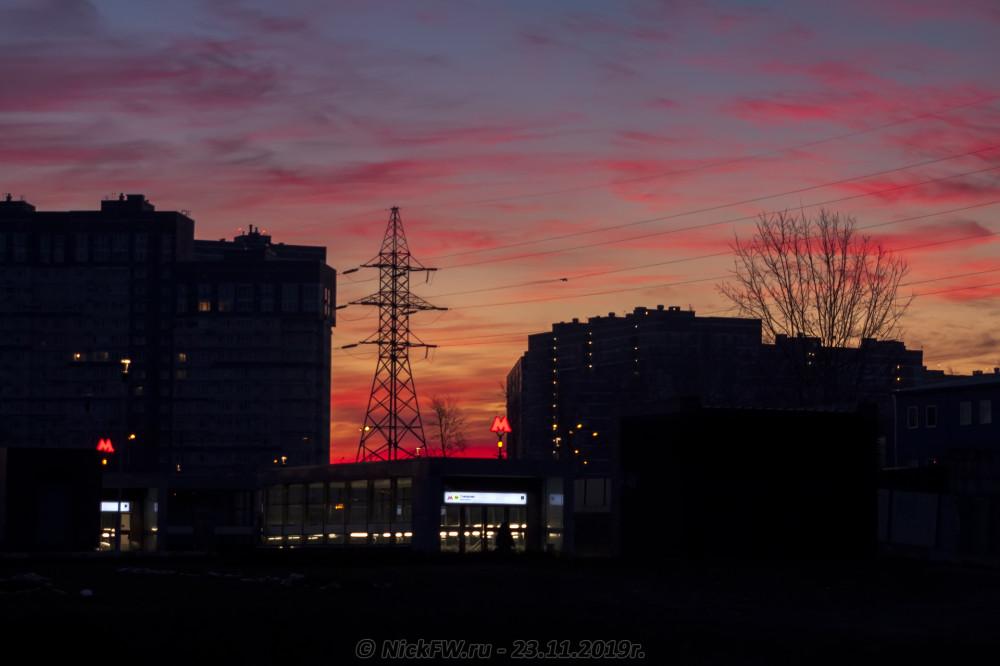 4. Рассвет над Говорово... © NickFW.ru - 23.11.2019г.