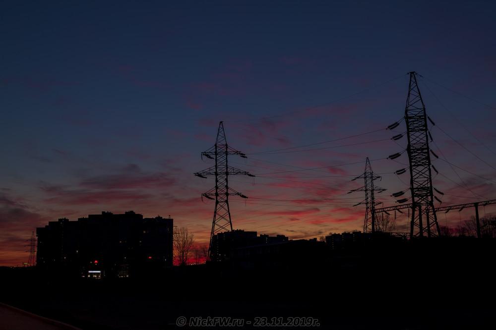 3. Рассвет над Говорово... © NickFW.ru - 23.11.2019г.