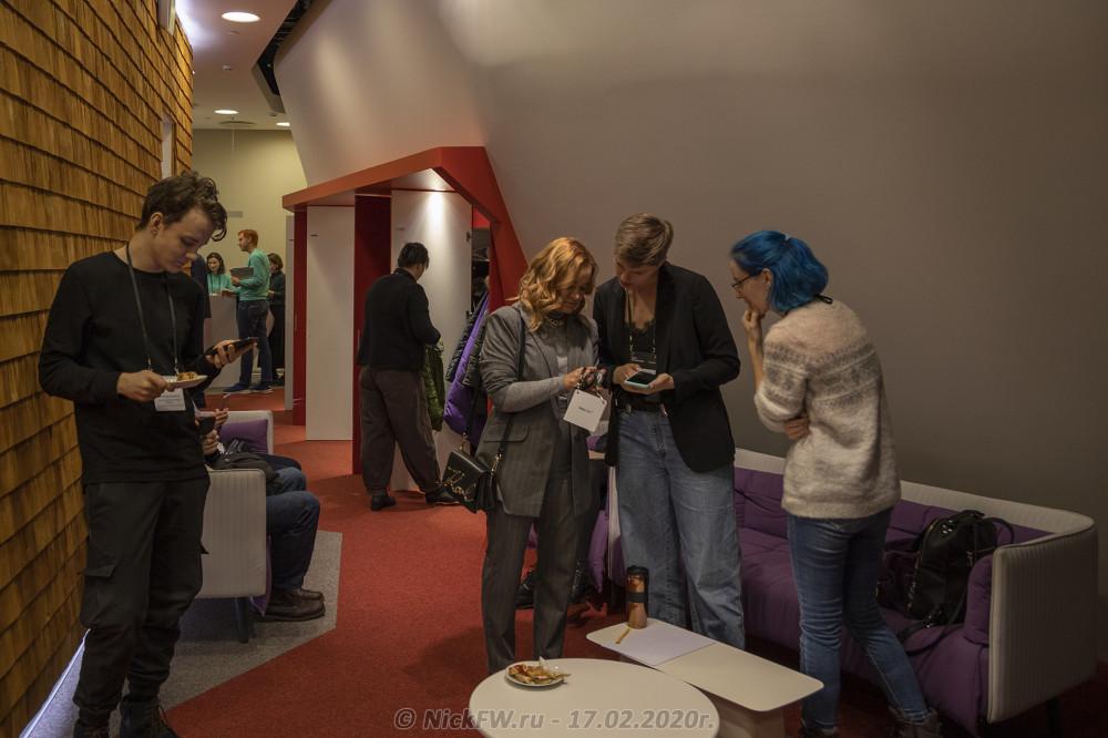 4. Дзен понедельник - перед началом в гардеробе - © NickFW.ru - 17.02.2020г.