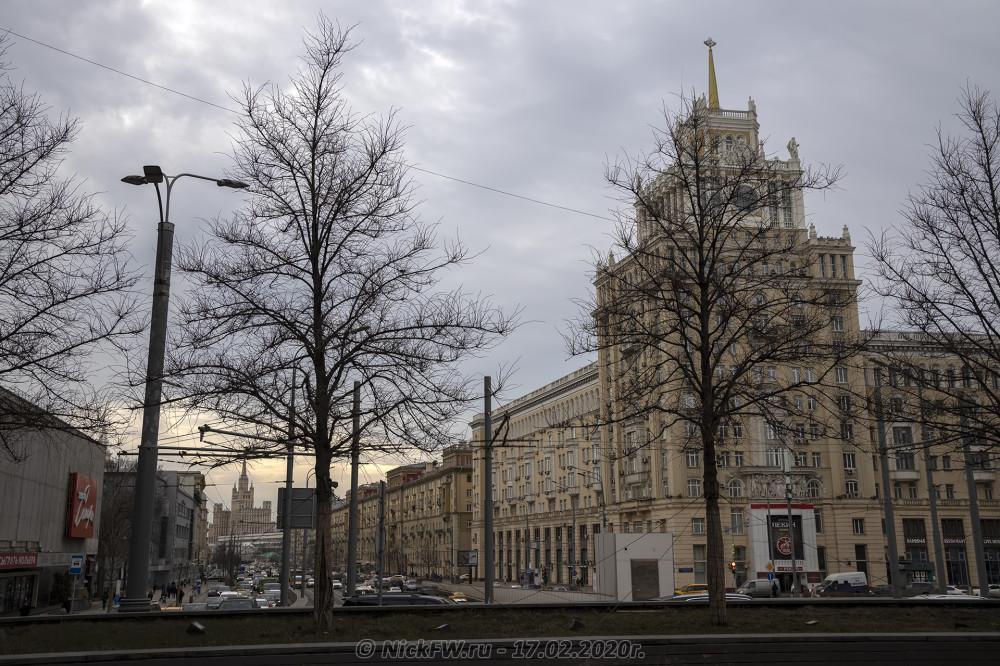 4. Гостиница Пекин и высотка на Кудринской площади © NickFW.ru - 17.02.2020г.