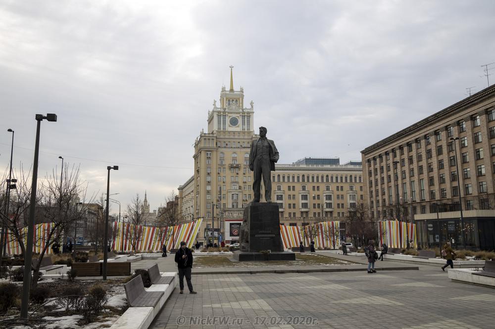 1. Триумфальная площадь © NickFW.ru - 17.02.2020г.