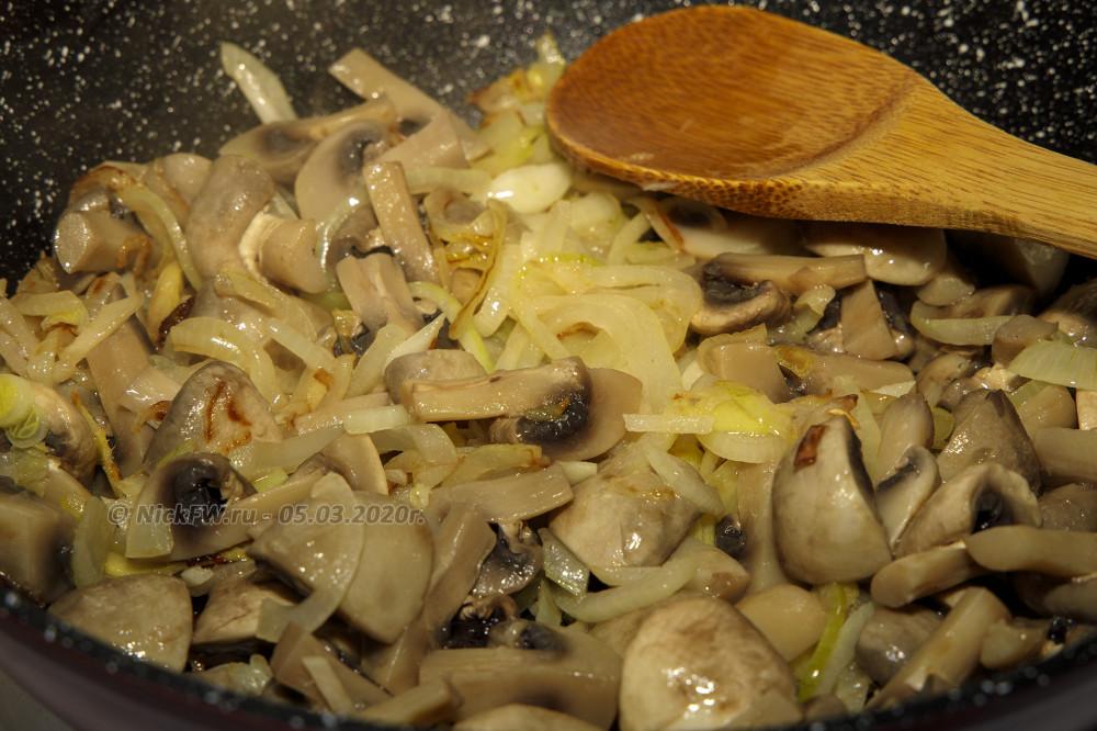 4. Плов из булгура с грибами - обжарка © NickFW.ru - 05.03.2020г.
