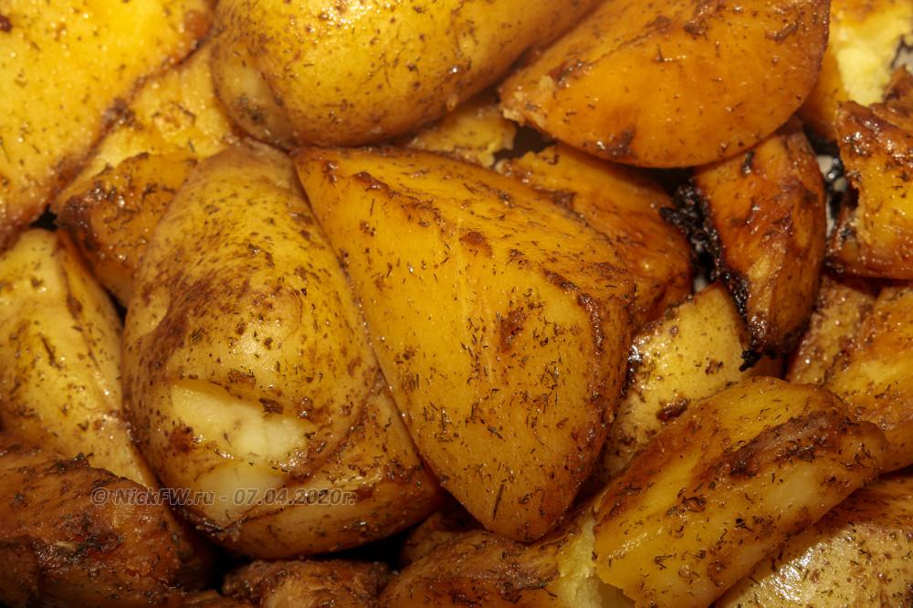 4. Картошка в соевом соусе... © NickFW.ru - 07.04.2020г.
